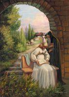 Картина напечатанная на холсте - Картина Репродукция 0016 / Печать на холсте