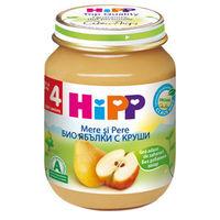 Piure de mere și pere Hipp (4+ luni), 125g