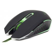 Mouse Gembird MUSG-001-G Black-Green