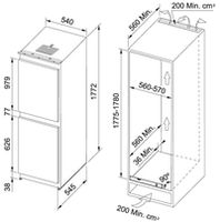 Холодильник Franke FCB 320 NR MS
