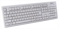 Keyboard A4Tech KM-720 Ergo, USB, White