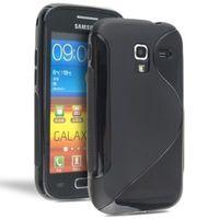Чехол Silicon case for Samsung i8160 Grey