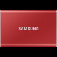 Внешний SSD диск Samsung T7 1Tb, Red