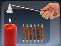 купить Тушитель металлический для свечи, 35.5сm с дер держат в Кишинёве