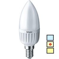 (LL) LED (5W) NLL-P-C37-5-230-4K-E14-FR