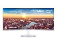 "34.0"" SAMSUNG ""C34J791WTI"", White (VA-Curved QDot 3440x1440, 4ms, 300cd, Mega-DCR, DP+HDMI+Thunderb) ( 34""Ultra-wide (21:9), VA-Curved Quantum Dot, 3440x1440 UWQHD, 0.232mm, 4ms GTG, 300 cd/m², Mega-DCR, 16.7 million colors, 178°/178° @C/R>10, DisplayPort + HDMI + Thunderbolt x2, HDMI-Audio-In, Headphone-Out, Built-in speakers 7Wx2, USB 3.0 x4-Hub, External Power Adaptor, HAS 100mm, Tilt -7/+20°,   MagicBright, MagicUpscale, Eco Saving Plus, Eye Saver Mode, Flicker Free, Game Mode, FreeSync 100Hz, MultiView PIP/PBP mode,   White High Glossy)"