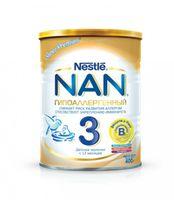 Nestle NAN® 3 Гипоаллергенный 400gr.