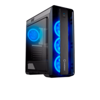Корпус ATX Gamemax MoonLight Black