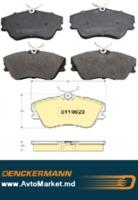 B110823 Колодки VW TRANSPORTER T4 90-