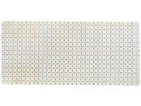 Коврик для ванны 36X76cm Quadro Premium белый