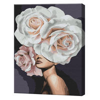 Flori superbe, 40х50 cm, pictură pe numere BS38428