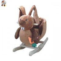 BabyGo качалка с музыкой Счастливый Кролик