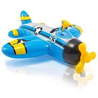 Надувной плотик Самолет WATER GUN PLANE 132x130cм, 3+