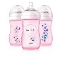 Philips Avent Biberon Natural Flowers, 260ml