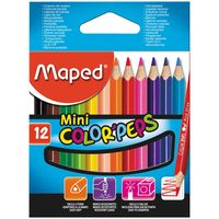 MAPED Карандаши цветные MAPED Star Mini, 12 цветов