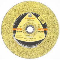 EXTRA/A24 EX/230x2x22.23 круг отрезной по металлу KLINGSPOR