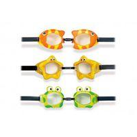Очки для плавания PLAY(UV), 3 цвета 3-8лет