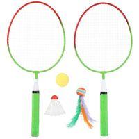 Palete badminton otel (2 buc.) Fun Game NR004 (3522)