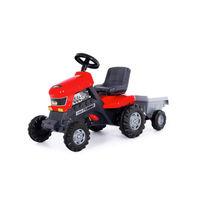 Полесье Трактор с педалями с полуприцепом Turbo