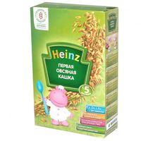 Heinz каша овсяная безмолочная с пребиотиками, 5+мес. 180г