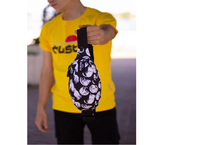 купить Сумка на пояс Custom Wear UNO Cats Black (387) в Кишинёве