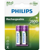 Батарейка Philips Rechargeable 2600 mAh AA B2 (2 шт.), R6 MULTILIFE B2