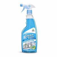 Средство для очистки стекол и зеркал Clean glass 600мл голубая лагуна