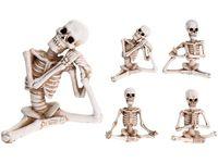 """Сувенир Скелет в позе йога """"Halloween"""" 10X4X9.5cm"""