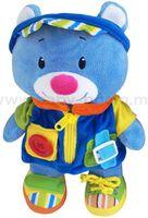 Baby Mix EF-TE-9823A Игрушка плюшевая Мишка мальчик