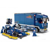 "КОНСТРУКТОР F1 ""BLUE LIGHTNING"" Racing Truck"