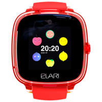 Детские умные часы Elari KidPhone Fresh, Red