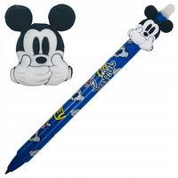 Автоматическая шариковая ручка Colorino стираемая синяя 0,5 мм Minnie Mouse + Miki Mouse Disney