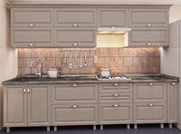 Кухонный гарнитур Bafimob Quadro MDF 3.0m +tandembox Cappuccino