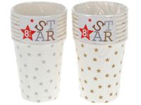 """купить Набор бумажных стаканов """"Star"""" 8шт, 250ml в Кишинёве"""