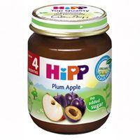 Hipp пюре яблоки и сливы 4+ мес. 125г