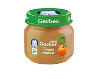 Gerber пюре персик 4+меc. 80г