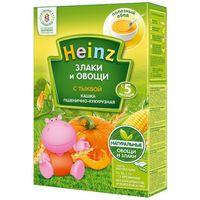 Heinz каша пшенично-кукурузная безмолочная с тыквой, 5+мес. 200г