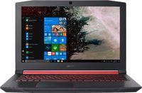 """ACER Nitro AN515-54 Obsidian Black (NH.Q59EU.048) 15.6"""" FHD IPS (Intel® Core™ i7-9750H 6xCore 2.6-4.5GHz, 16GB (2x8) DDR4 RAM, 512GB PCIe NVMe SSD, GeForce GTX™ 1650 4Gb GDDR5, WiFi-AC/BT, 4cell, HD Webcam, RUS, Backlit KB, Linux, 2.5kg)"""