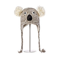 Шапка взрослая Knitwits Kirby The Koala Pilot Hat, A1049