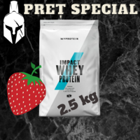 Сывороточный протеин (Impact Whey Protein) - Натуральная клубника - 2.5 KG