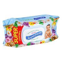 SuperFresh влажные салфетки 120 штк