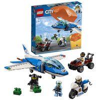 """LEGO City  """"Poliția aeriană: arestarea unui parașutist"""", art. 60208"""