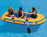 Barcă pneumatică Intex 68370 Challenger 3 Set