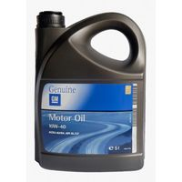10W-40 GM OPEL Motor Oil Semi Synthetic Масло моторное 5л