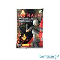 Emplastru capsici HotPlaster Organic 9 x 14 cm N1 efect 24 ore (116804)