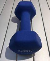 Гантель неопреновая 5 кг (4557)