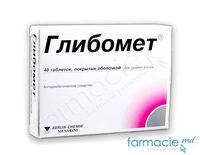 Глибомет, табл. в оболочке 400 мг2,5 мг N40