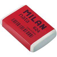 MILAN 624, Ластик, прямоугольный, в индивид,упаковке (синтетический каучук)