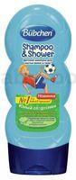 Bubchen 201201 Шампунь для мытья волос и тела «Юный спортсмен» (230 мл.)