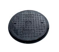 купить Крышка с рамой для колодца ф.700 х 70/ 24т чёрн.  (790x95x63kg) в Кишинёве
